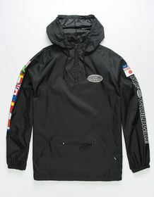 HUF Tour Quarter Zip Mens Anorak Jacket_