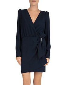 The Kooples - Daisy Bow-Detail Crepe Dress