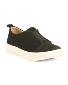 SOFFT Comfort Suede Slip On Sneakers
