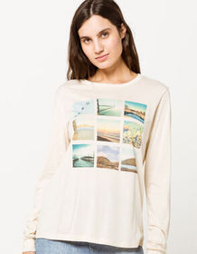 RSQ Travel Grid Womens Tee_
