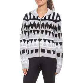 adidas Pattern Hoodie (For Women) in Mgh Solid Gre