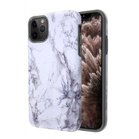 Insten Fuse Marble Hard Dual Layer Plastic TPU Cov