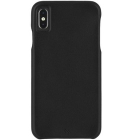 Case-Mate iPhone Xs Max Barely There Leather Black