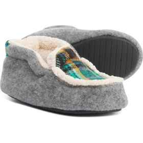 Dearfoams Sherpa-Lined Slippers (For Boys) in Ligh