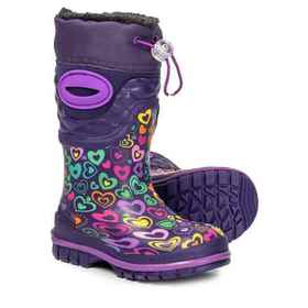 Western Chief Scatter Heart Print Snow Boots - Wat