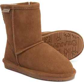 Bearpaw Emma Boots - Suede, Sheepskin (For Toddler