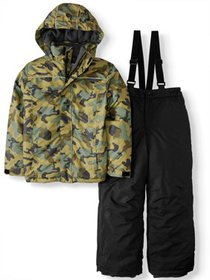 Iceburg Crater Insulated Jacket and Snow Pants, 2-