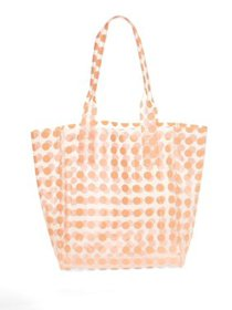 Frosted Dot Jelly Tote