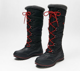 """""""As Is"""" Cougar Waterproof Lace-Up Tall Shaft Snow"""