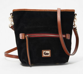 """As Is"" Dooney & Bourke Fielding Suede Mini Hobo C"