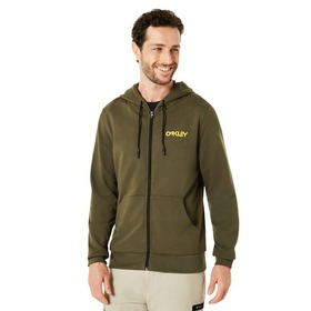 Oakley Fleece Oakley Loop Zipped - Dark Brush