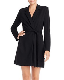 FRENCH CONNECTION - Sadira Lula Lapeled Wrap Dress