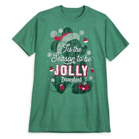 Disney Mickey Mouse Jolly Holiday T-Shirt for Adul