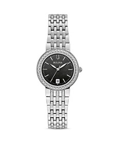 Bulova - Classics Diamond Black Mother-of-Pearl Di
