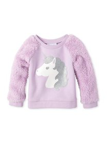 The Children's Place Baby Toddler Girl Faux Fur Sl