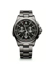 Victorinox Men's Night Vision Anthracite Dial Stai