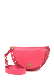 See By Chloe Grommet Leather Shoulder Bag