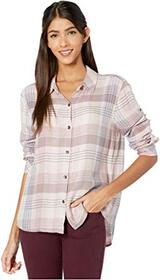 Splendid Rayon Plaid Button-Up