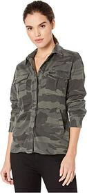 Splendid Cargo Shirt Jacket with Jersey Lining