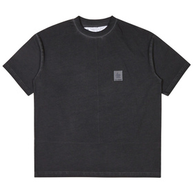 Oakley Patch Short Sleeve Tee Osr - Dark Wine
