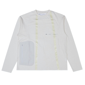 Oakley Seamtape Long Sleeve Tee Osr - White