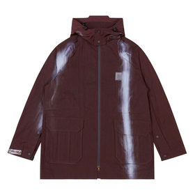 Oakley Spray Print Coat Osr - Dark Wine
