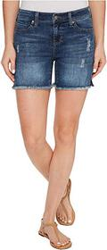 Liverpool Vickie Shorts Frayed in Vintage Super Co