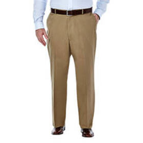Mens Big & Tall Haggar® Premium No Iron Khaki Clas