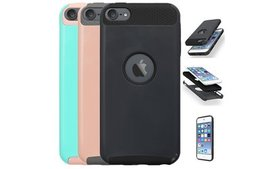 Hybrid Armo Rubber Hard Cover Case For iPod Touch