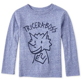 Baby And Toddler Boys Triceraboss Graphic Tee