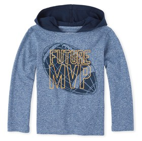 Baby And Toddler Boys Hoodie Top