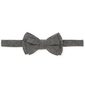 Toddler Boys Chambray Bow Tie