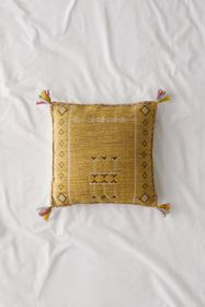 Hannah Embroidered Throw Pillow