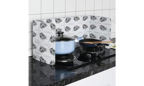 Home Kitchen Stove Foil Plate Prevent Oil Cooking