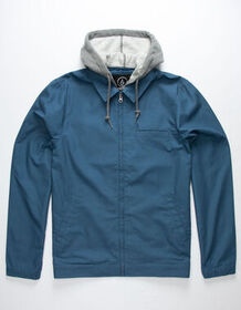 VOLCOM Warren Blue Mens Jacket_