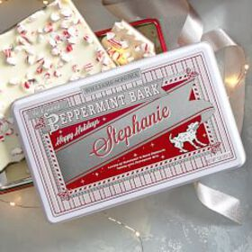 Williams Sonoma Peppermint Bark, Personalized