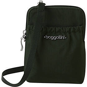 baggallini Bryant RFID Wallet with Strap