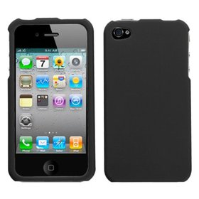 Insten Black Protector Case Cover(Rubberized) For