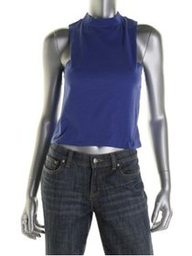 Energie Womens Juniors Sleeveless Fitted Crop Top
