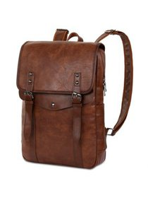 VBIGER PU Leather Backpack Vintage Laptop Backpack