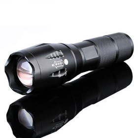 Ktaxon 5Mode Zoomable LED 18650 Flashlight Focus T