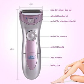 Shaver for Women,Electric Cordless Waterproof [Wet