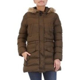 Zip-Front Anorak With Faux Fur Trimmed Hood