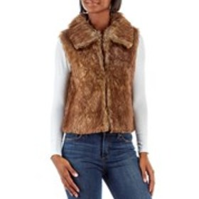 RAMPAGE Juniors Faux Fur Mid Weight Vest