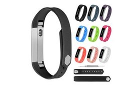 Soft Silicone Sport Watch Band Loop Spare Strap