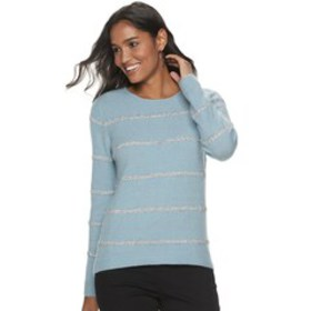 Women's Apt. 9® Crewneck Holiday Sweater