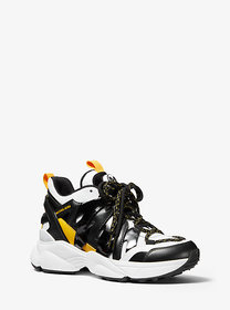 [object Object] Hero Leather and Mesh Trainer