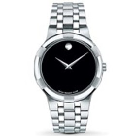 MOVADO Movado Metio Mens Black Dial Dress Watch