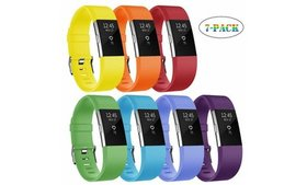 Silicone Fitness Wristband Strap Replacement Bands
