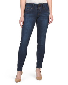 ROYALTY Booty Enhancing 3 Button Skinny Jeans